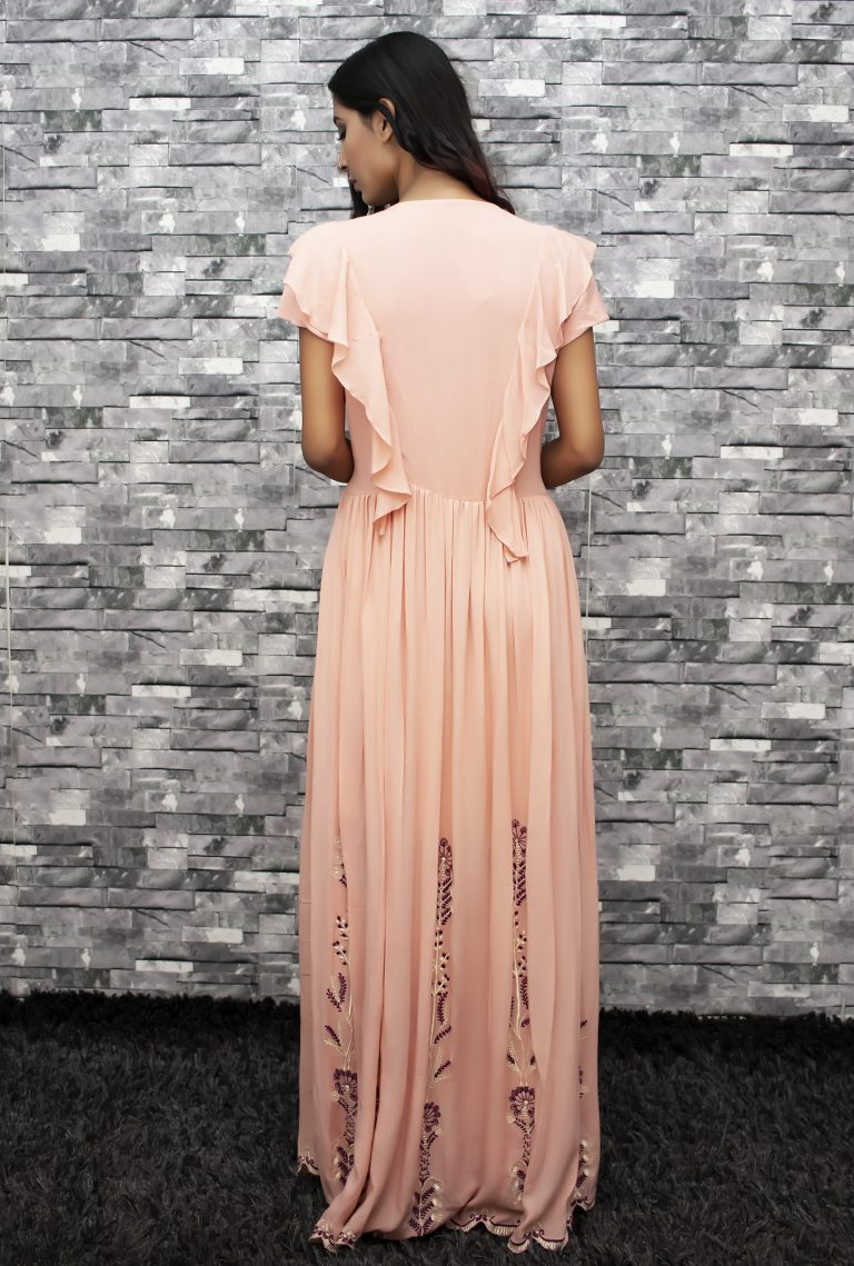 Folklore Collections - Embroidered Cotton Maxi Dress 3, Fashion designer clothing women designer clothing women clothing online designer clothes on sale designer sale canada designer clothes toronto popular clothing stores in toronto