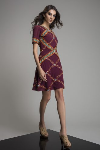 Exclusive Embroidered mini dress