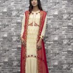 High low embroidered cotton maxi