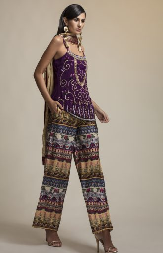 Designer Embroidered kurta set